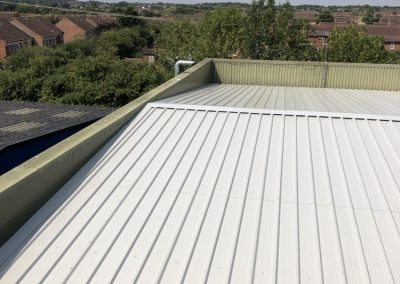 Roof refurbishment after